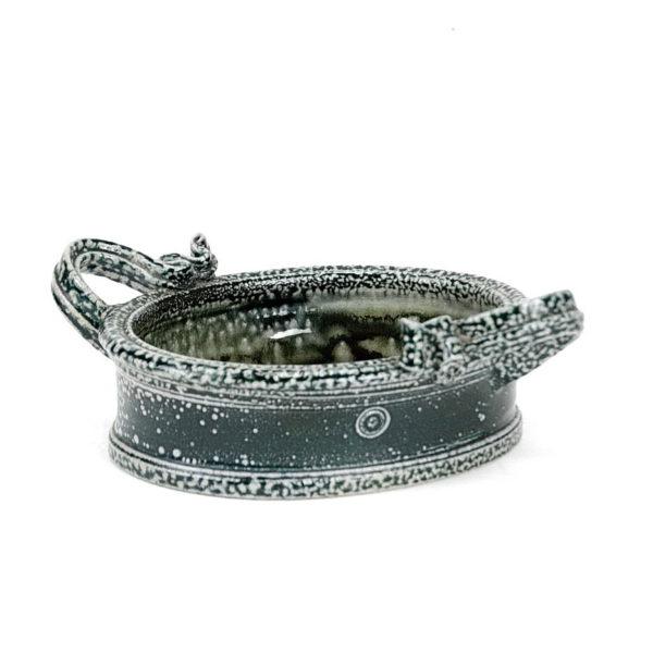 Walter Keeler stoneware dish with handles SIG2146