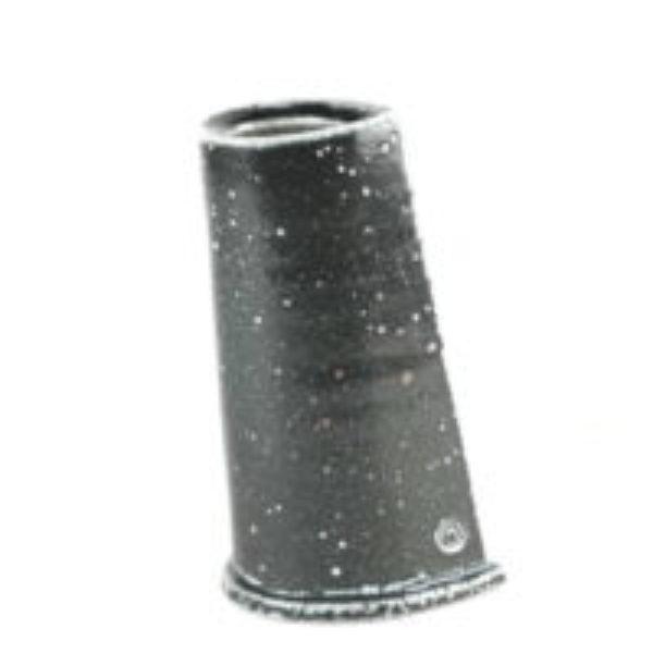 Salt glazed vase