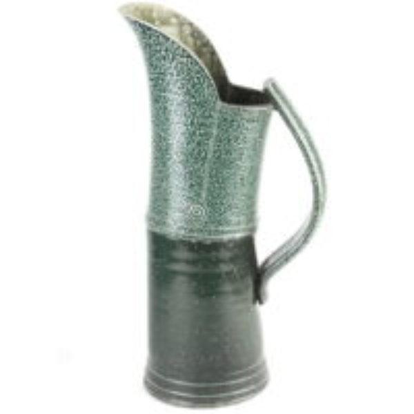 Tall salt glazed jug